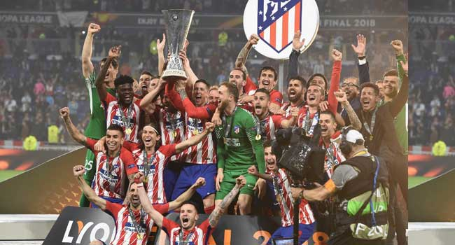 Griezmann Fires Atletico Madrid To Europa League Title