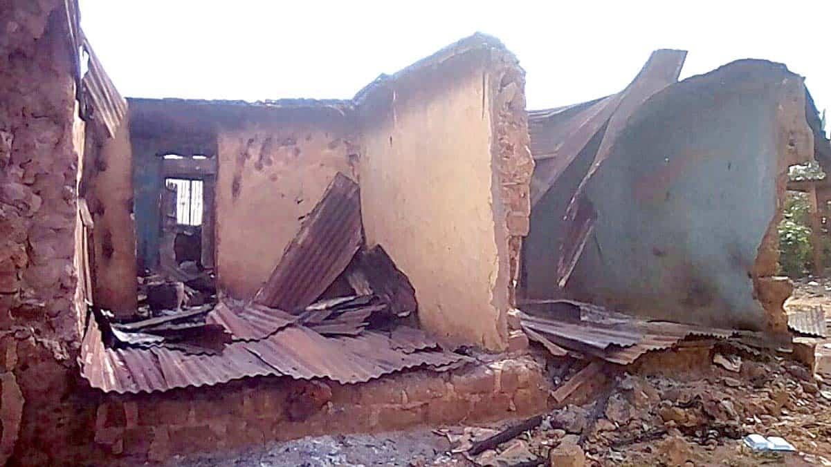 Boko Haram Terrorists Attack Mifa, Near Chibok Town, Burn Down Houses