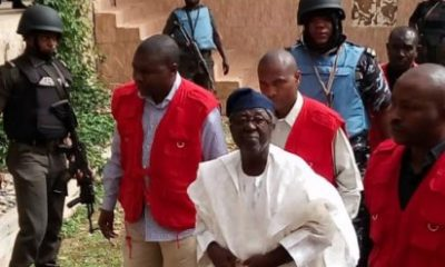 Former Governor of Plateau State, Senator Jonah Jang arraigned at a federal High Court in Jos,