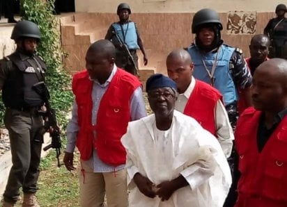 Former Plateau Governor, Jang Arraigned, Remanded in Jos Prison