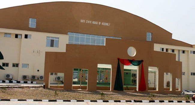 BREAKING: Ekiti Assembly Impeaches Deputy Speaker