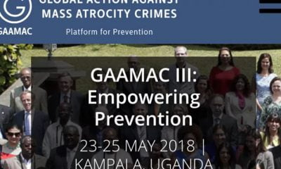 Uganda to host global meeting on preventing mass atrocities