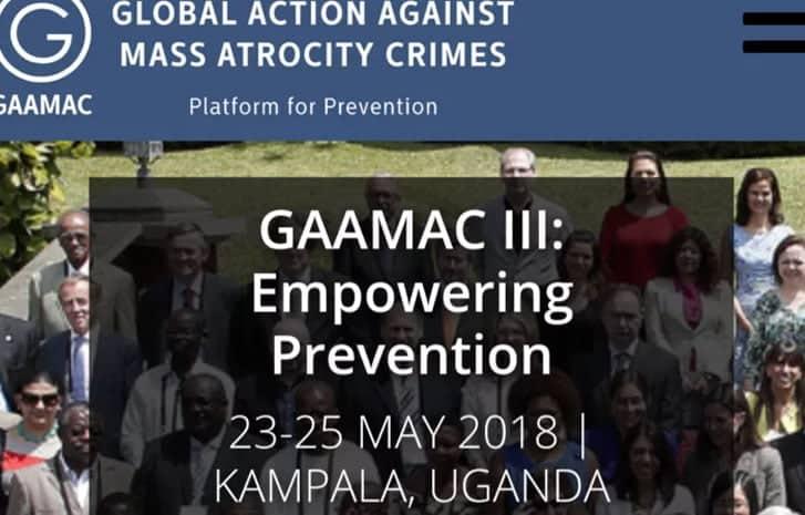 Uganda to host global meeting on preventing mass atrocities