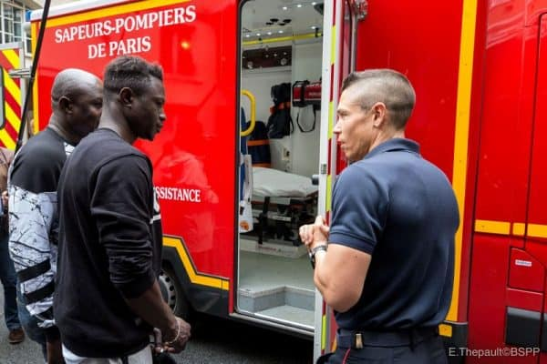 PHOTOS: 'African Spiderman' Begins Firefighting Training In France