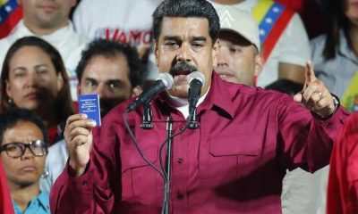 Venezuela's President, Maduro Declared Winner Of Disputed Polls