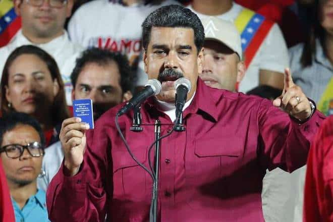 Venezuela's President, Maduro Declared Winner Of Disputed Polls