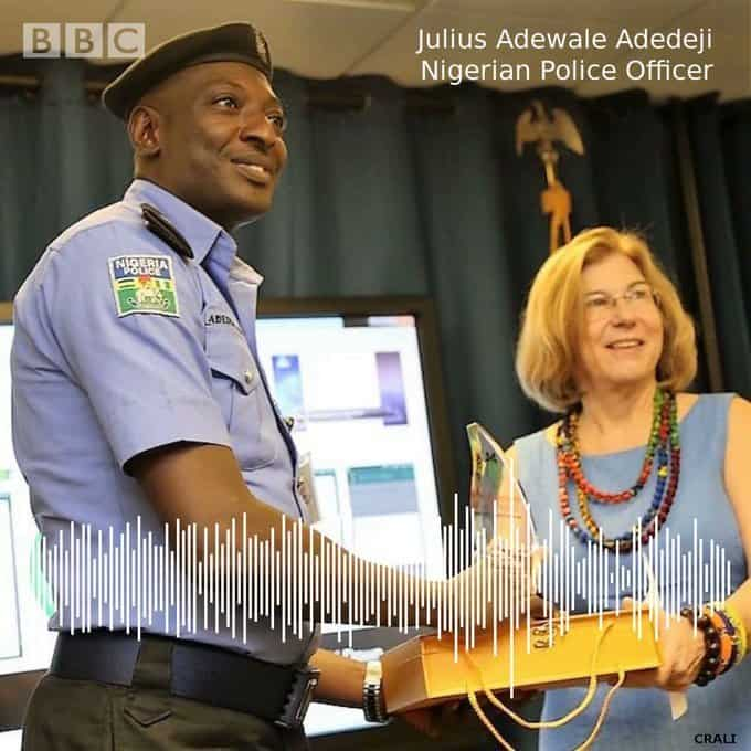 BBC Awards Nigerian Policeman Who Has A Clean Record On Bribery
