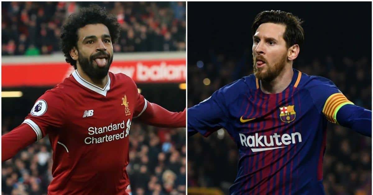Messi overtakes Salah in race for Golden Shoe