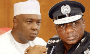 Saraki Idris 300x182 - Saraki Reveals Why IGP, Security Chiefs Were Summoned By The Then 8th National Assembly