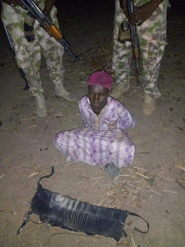 Army Arrests Teenage Bomber