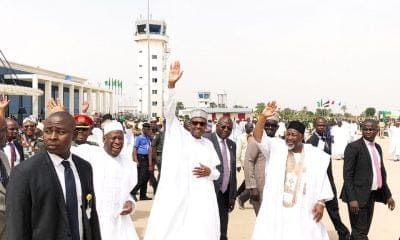 PMB in Jigawa for 2-day working visit