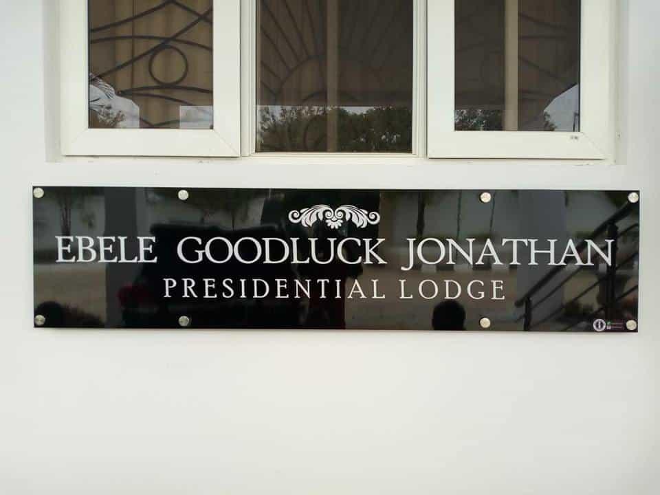 Fayose names Ekiti Presidential Lodge after Goodluck Jonathan