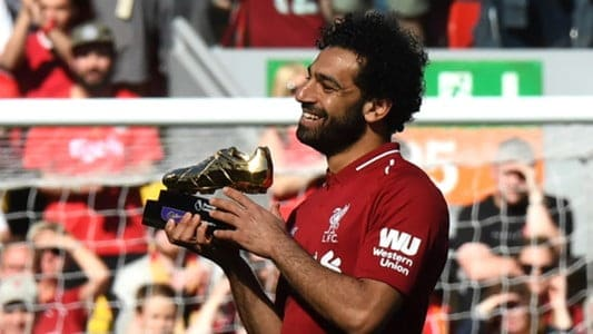 Salah wins premier league golden boot