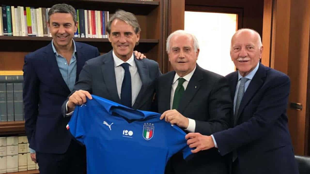 Roberto Mancini Named Italy Head Coach