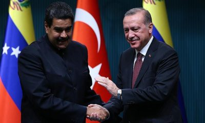 Erdogan Congratulates Maduro After Controversial Election Win