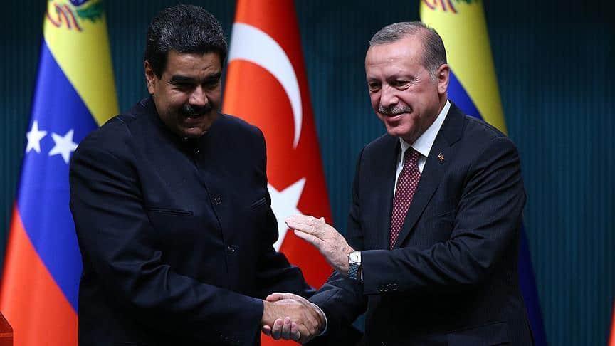 Erdogan Congratulates Maduro After Controversial Election Win