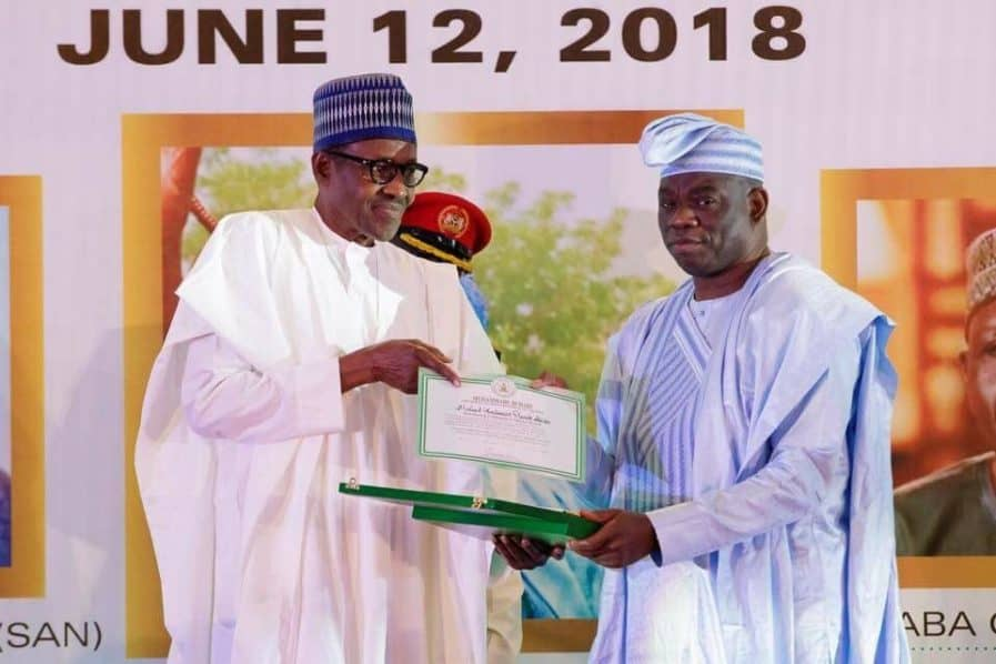 Image result for buhari amkes june 12 democracy day
