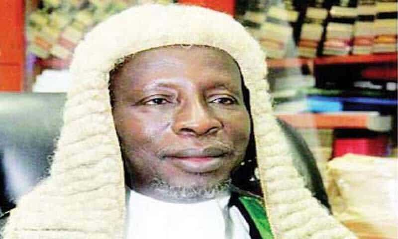 Adamu-Abdul-Kafarati confirmed as Chief Judge