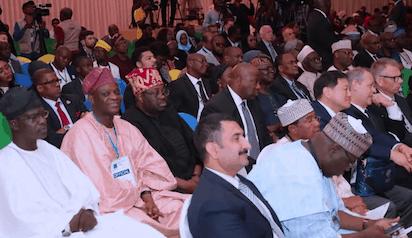 Photos: Buhari At International Press Institute (IPI) World Congress