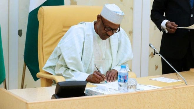 Buhari to sign 2018 budget on Wednesday