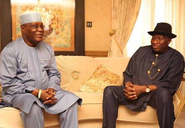Jonathan and Atiku 4 - Atiku Vs Buhari: Ex-VP Right To Approach Election Tribunal – Jonathan