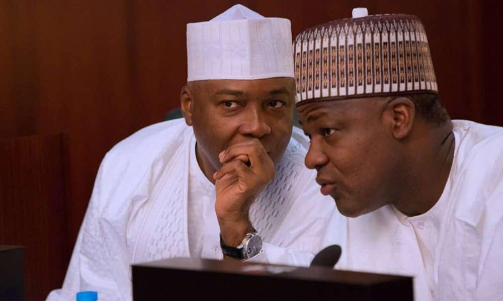 Saraki and Dogara 1 1000x600 - National Assembly Fixes Date To Pass 2019 Budget