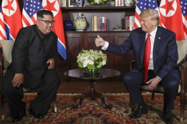 Trump shows off 'The Beast' to Kim during historic Singapore summit