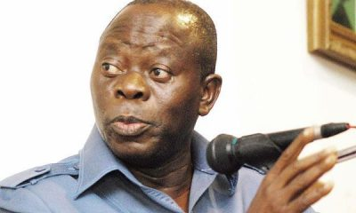 Just In: Oshiomhole Knocks INEC Chairman Over Election Postponement