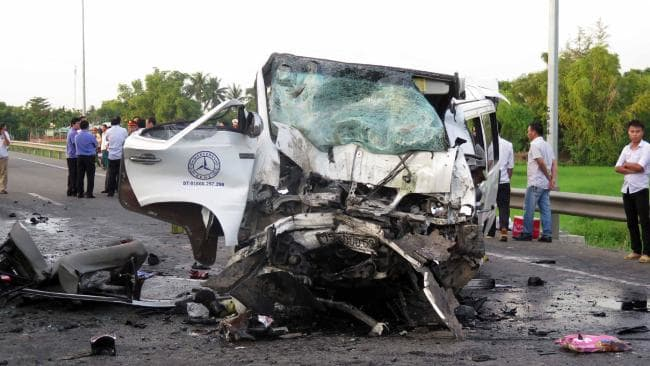 File photo of an accident scene