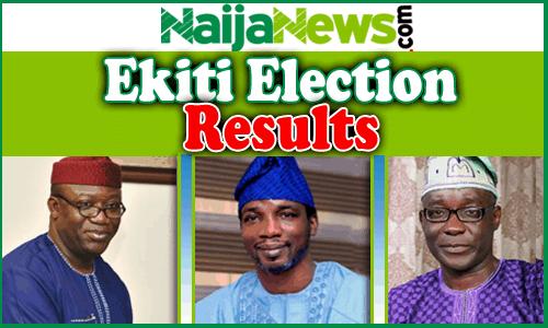 Ekiti Election Results