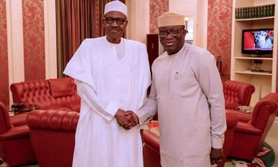 Buhari congratulates Fayemi on emergence as NGF chairman