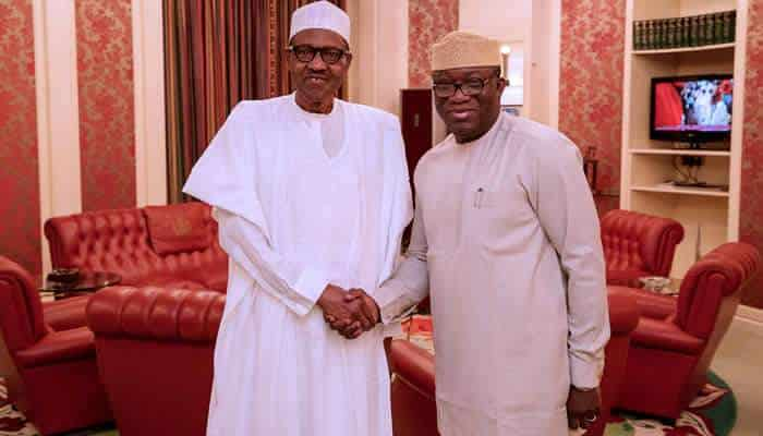The Chairman of the Nigeria Governors' Forum and Governor of Ekiti State, Kayode Fayemi, has revealed what he discussed with President Muhammadu Buhari.ence as NGF chairman