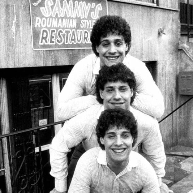 Robert, David and Eddy met at age 19