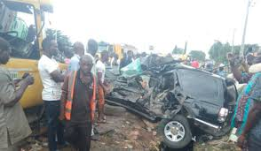 Many Injured In Tricycle, Bus, Train Crash In Lagos