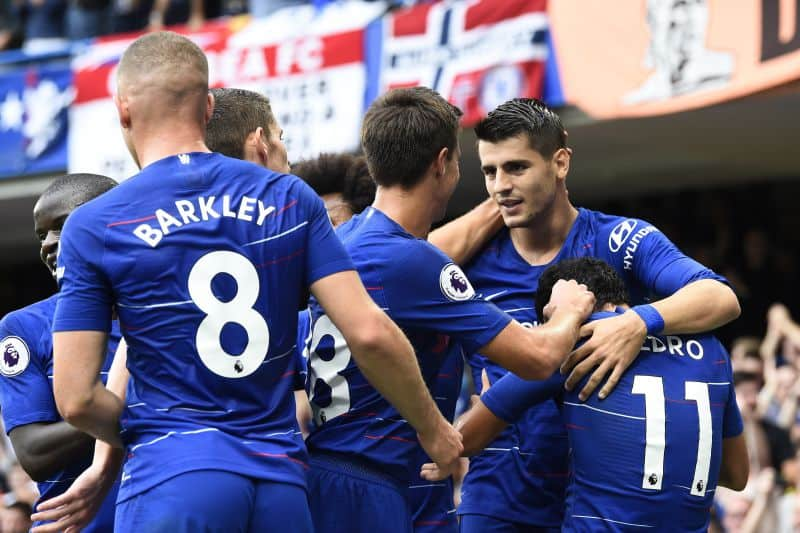 Sarri hopes to see more tears after Morata ends goal drought