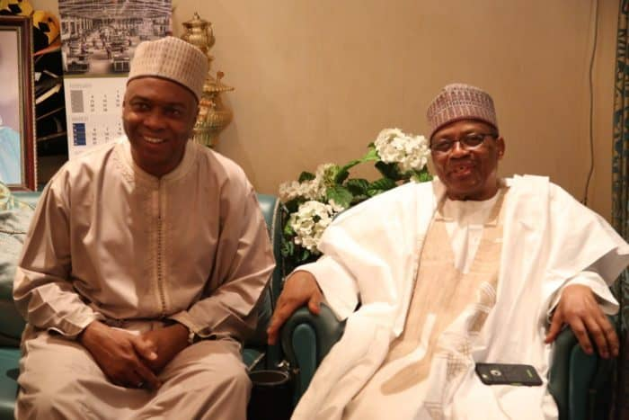 Image result for Read Details Of The Out-Come Of IBB And Saraki Closed Door Meeting