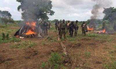 Army Militia Clash