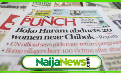 Nigeriian Newspaper
