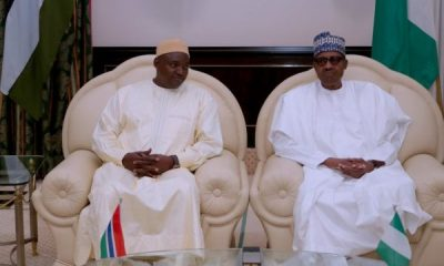 President-Adama-Barrow-and-President-Buhari-in-Abuja-on-Wednesday-e1533162134654
