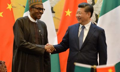 President of the Federal Republic of Nigeria, Muhammadu Buhari and Chinese President, Xi Jinping