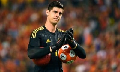 Real Madrid signs goalkeeper Courtois and loans midfielder Kovacic to Chelsea