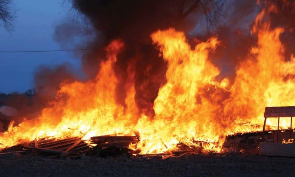 The Police Command in Ebonyi on Friday confirmed the death of two children in a kerosene explosion which occurred at Ezzamgbo Ohaukwu Local Government Area of the state. 1000x600 - Survivors Of House Set Ablaze By Jilted Lover Dies In Hospital