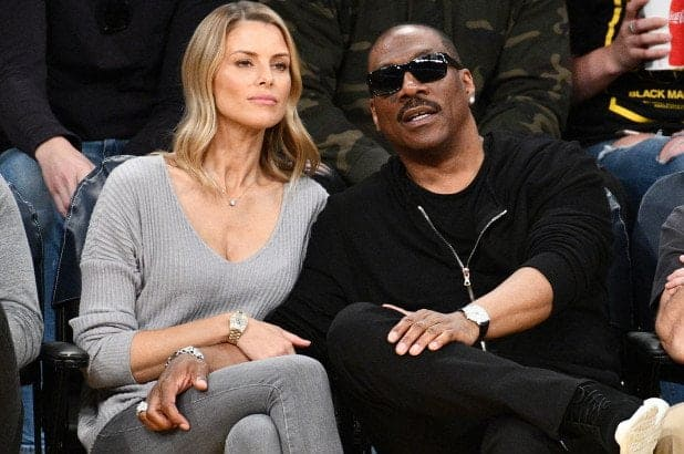 Eddie Murphy and Paige Butcher welcome a baby boy