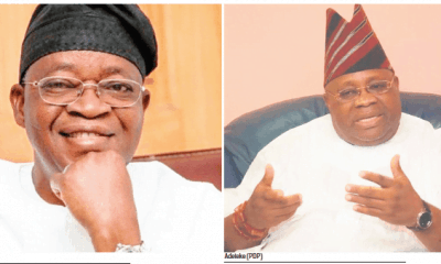 Nigerians React To Oyetola's Supreme Court Victory