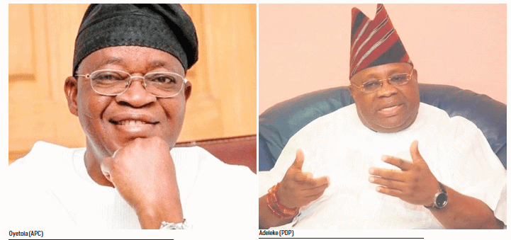 Adeleke Oyetola to battle in re run election - Osun Gov'ship Election: A/Court Denies Justice Oyewole On Appeal Panel