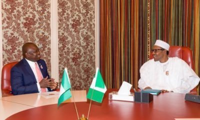 Muhammadu Buhari, Ambode Lagos State