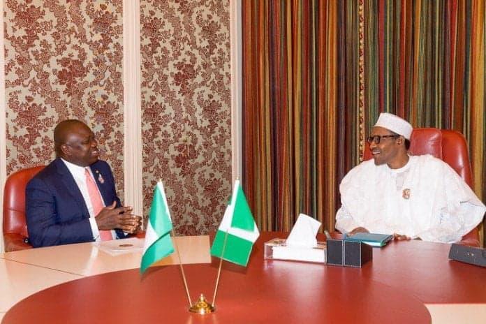 Ambode and Buhari - Roads To Avoid As President Muhammadu Buhari Visits Lagos State On Wednesday
