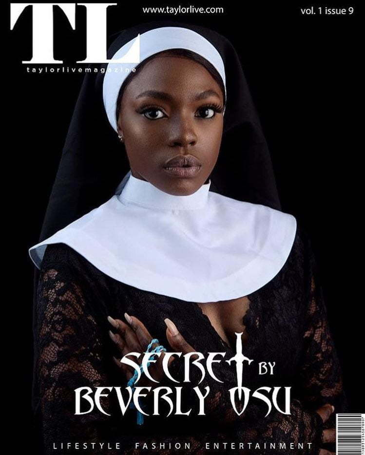 Beverly Osu Speaks On Argument Surrounding Her Nun Picture