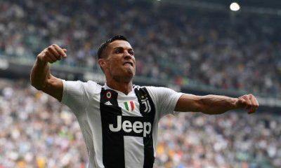 Cristiano Ronaldo celebrates goal