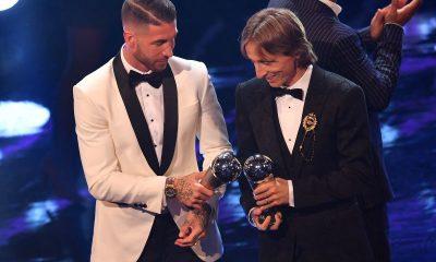 Modric and Sergio Ramos AFP